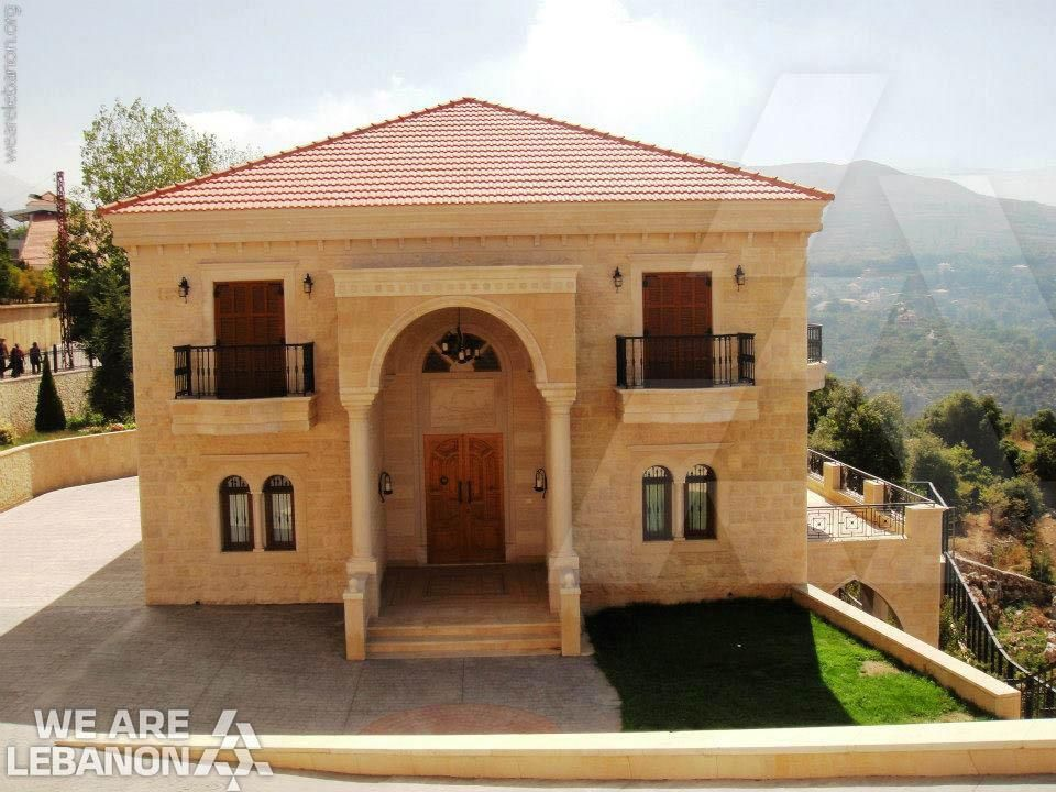 Wall Design Lebanon : What do you think of this lebanese house