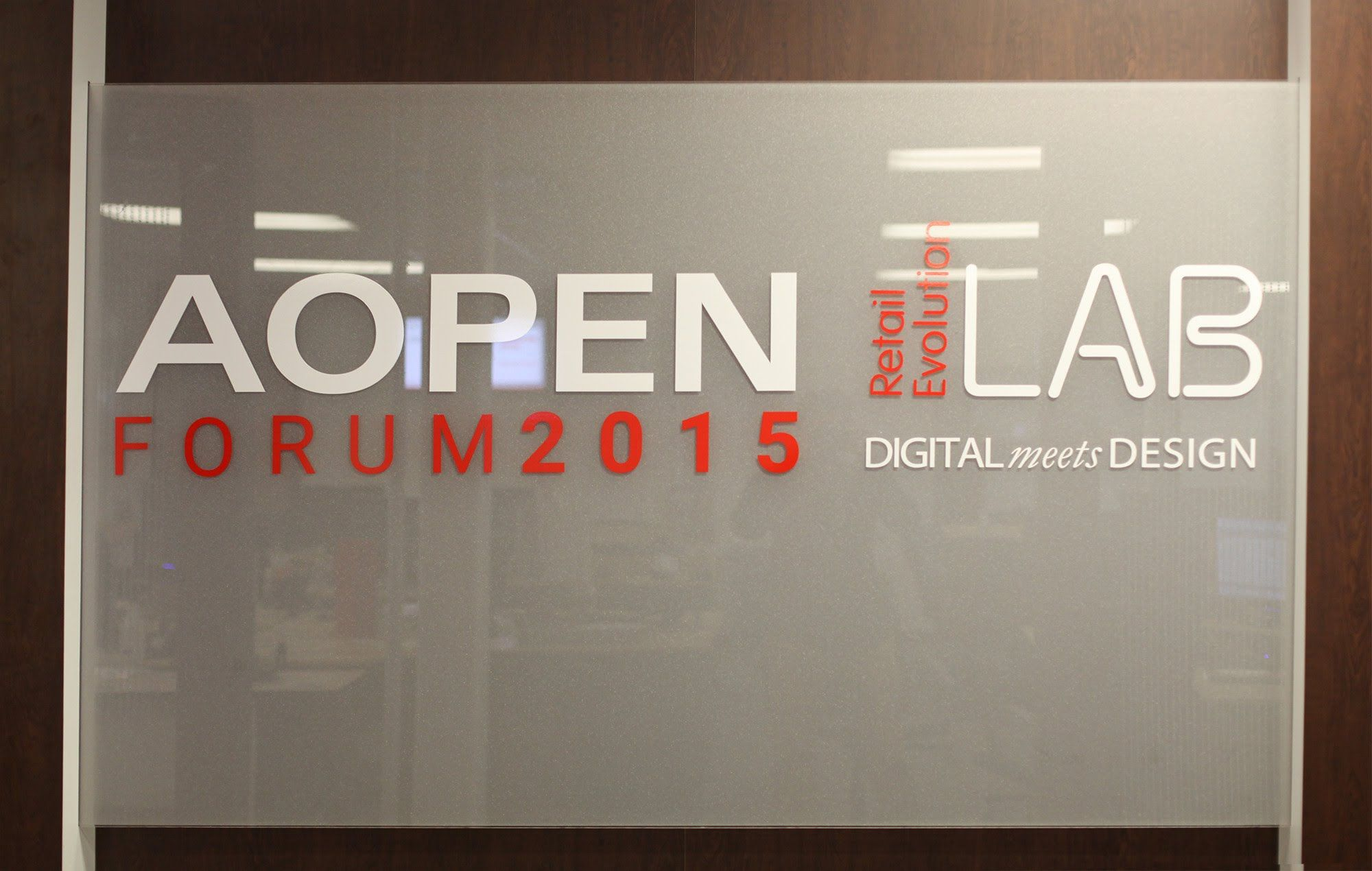 AOPEN Forum 2015 / Retail Evolution Lab Highlights