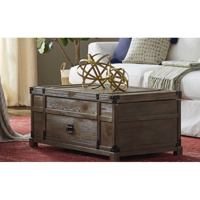 Coast To Imports Treasure Coffee Table With Lift Top Reviews Wayfair