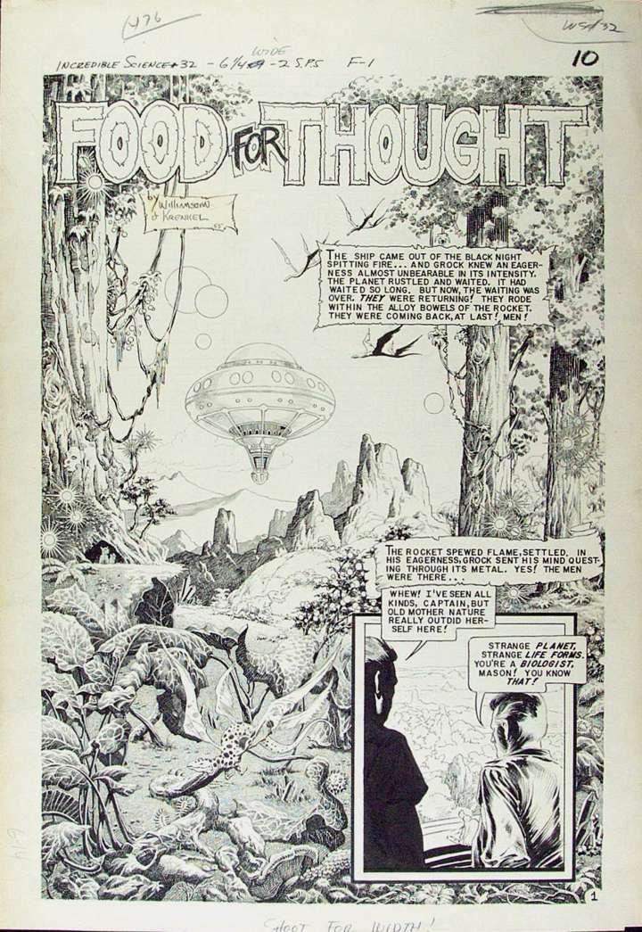 #RoyKrenkel [11/7/1918 – 24/2/1983] é um dos mais influentes quadrinistas e desenhistas de fantasia americanos de todos os tempos.