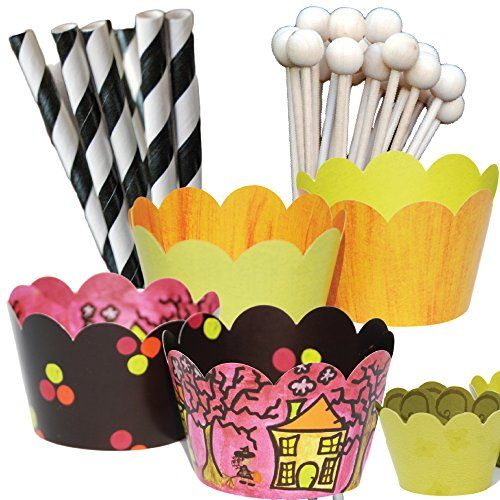 Neon Party Supplies, Cupcake Wrappers, Paper Straws, Wood... https://www.amazon.com/dp/B01KWV80EE/ref=cm_sw_r_pi_dp_x_oCTZxbY7P3N3H
