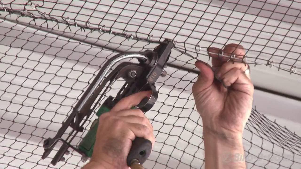 How to install heavy duty bird netting bird netting