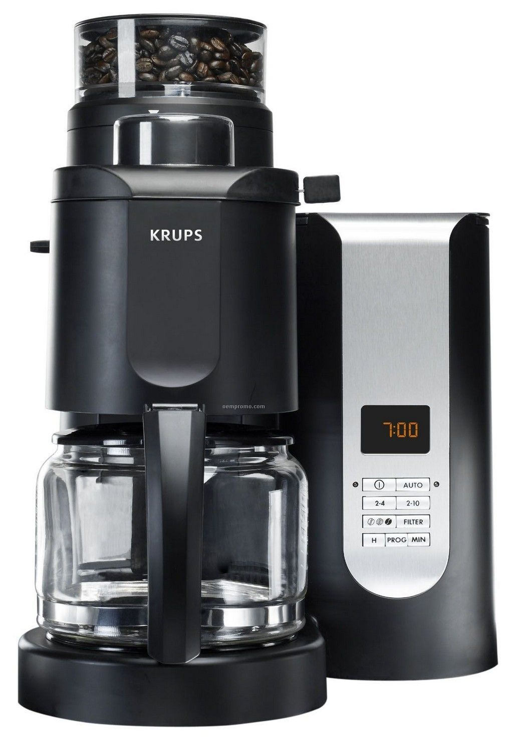 7d7f68787301 The Pro Grinder-Brewer coffee machine from Krups grinds and brews the  perfect cup of morning coffee day after day. * For more information, visit  image link.