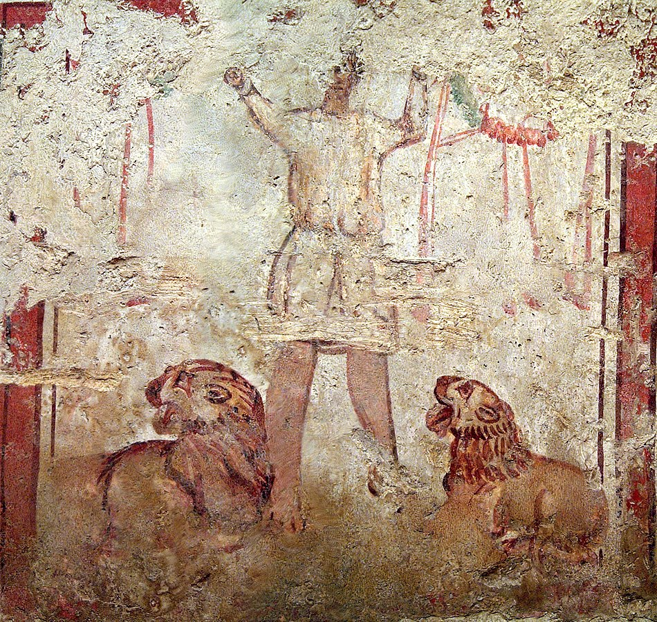 Necropole Paleochretienne De Pecs Sopianae Le Site Est Inscrit Sur La Liste Du Patrimoine Mondial De L Unesco Depu Patrimoine Mondial Necropole Patrimoine