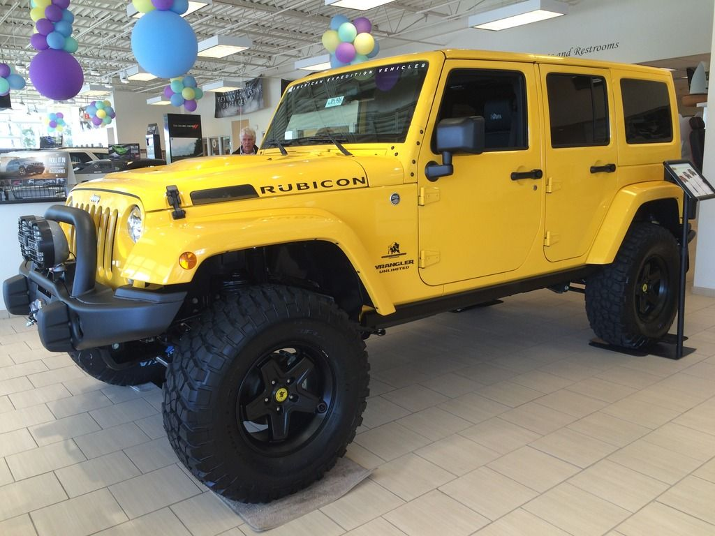 Fs 2015 rubicon jk350 baja yellow american expedition vehicles product forums