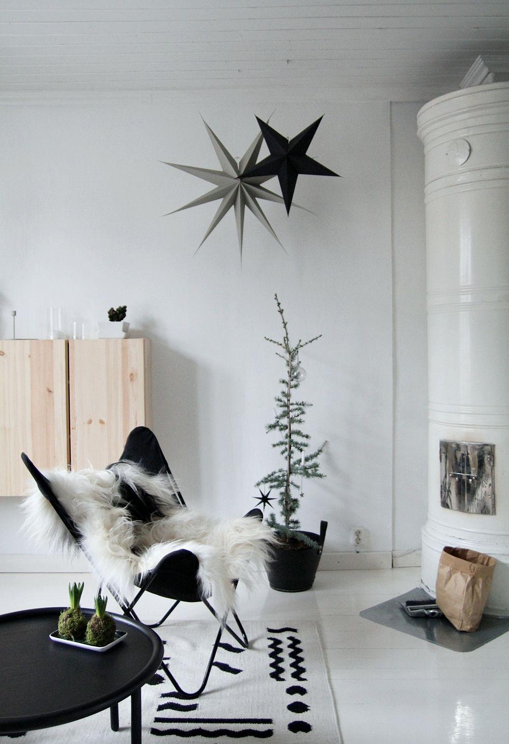 ♡ Weihnachtlich dekorieren im Scandi-Look