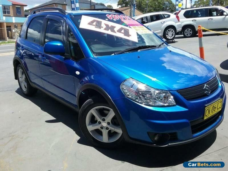 2007 Suzuki SX4 GY Blue Automatic 4sp A Hatchback #suzuki #sx4