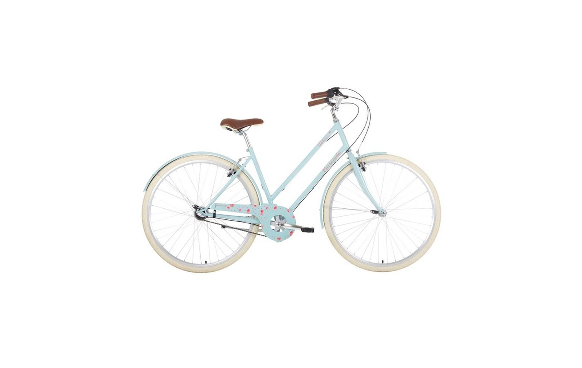 Barracuda Delphinus 3 19in Vintage Bike Blue Hybrid Bike