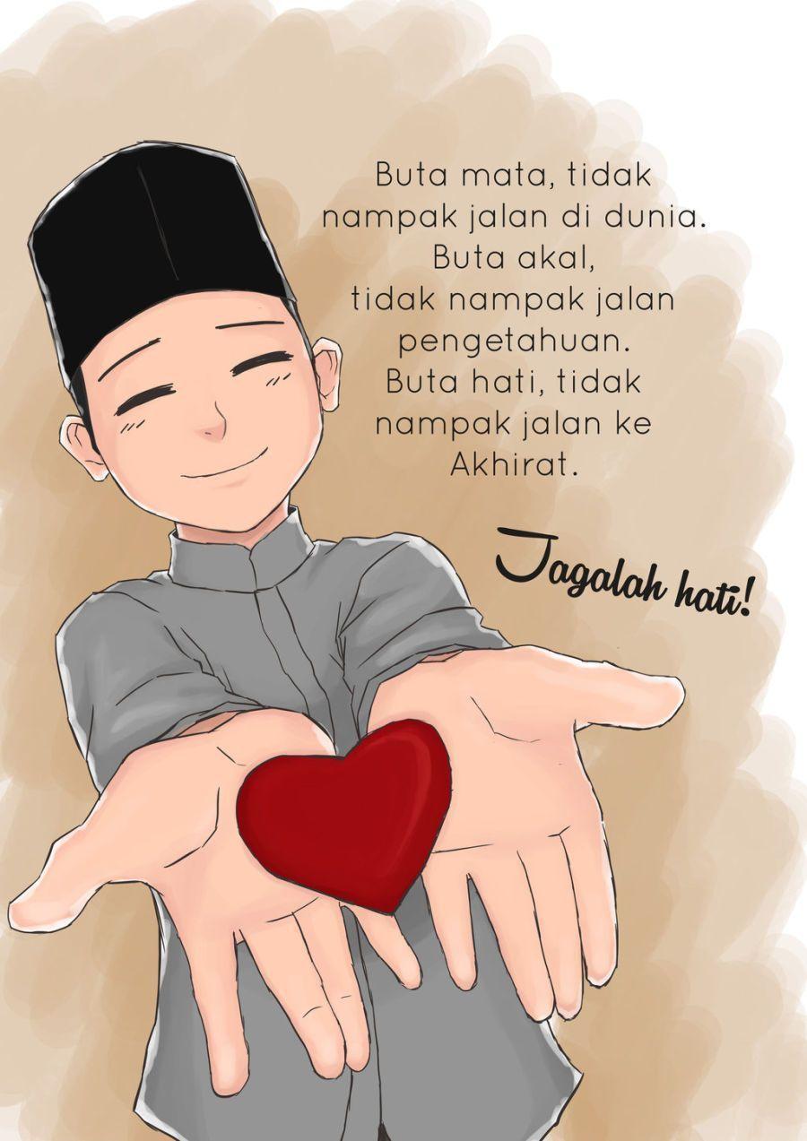 Gambar Kata Mutiara Kartun Islami Kartun Mutiara Motivasi