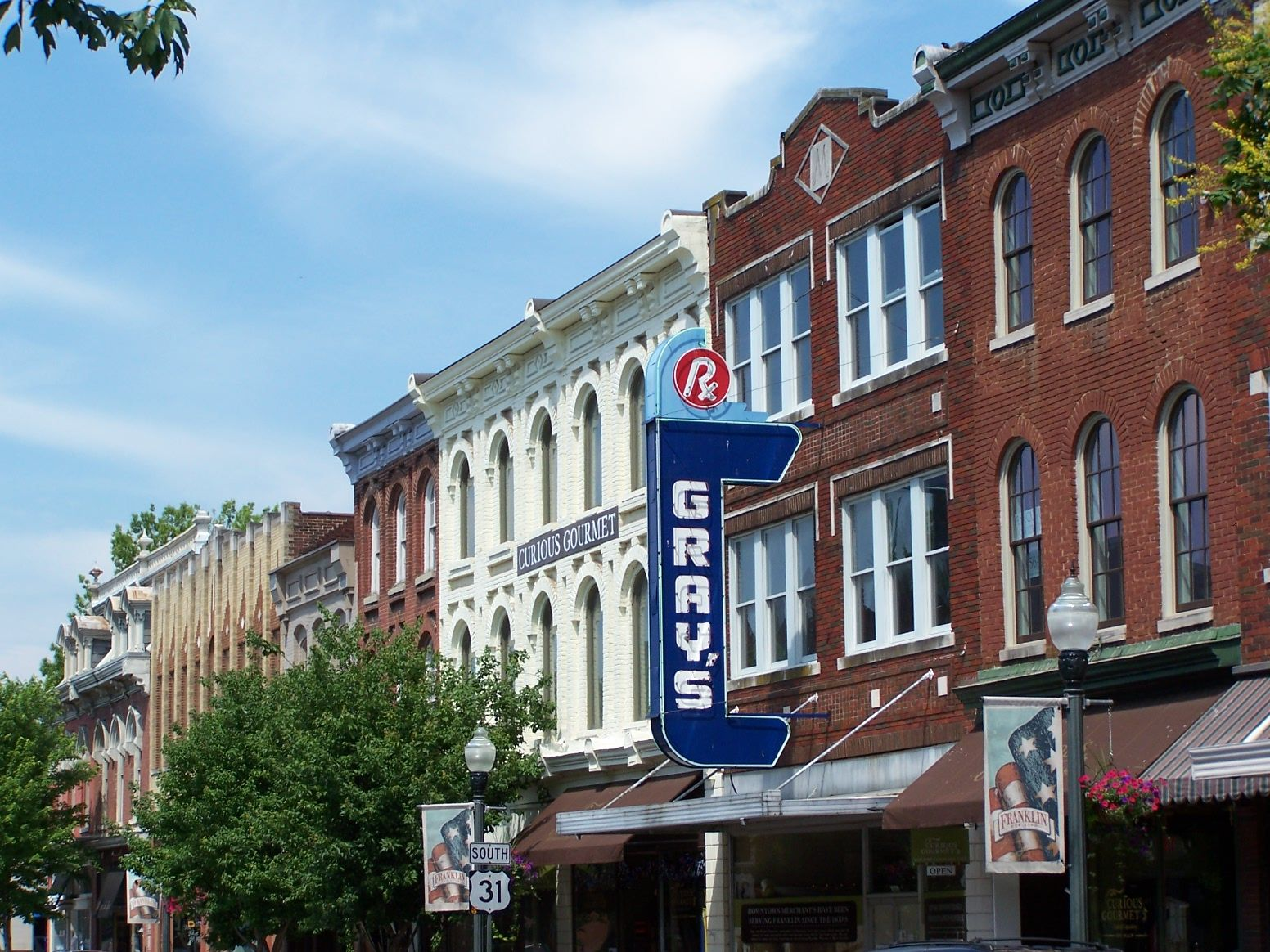 Historic downtown franklin tennessee and coming soon for Best small towns in tennessee to live