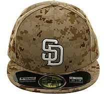 New Era Authentic Collection 5950 San Diego Padres 2013 Memorial Day Hat -  Camo.  37.99 a528800f564