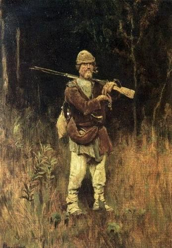 Headed Duck hunter - Viktor Vasnetsov