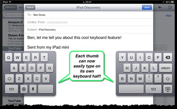 How To Undock Split Your Ipad Keyboard The Mac Observer Ipad Keyboard Keyboard Ipad