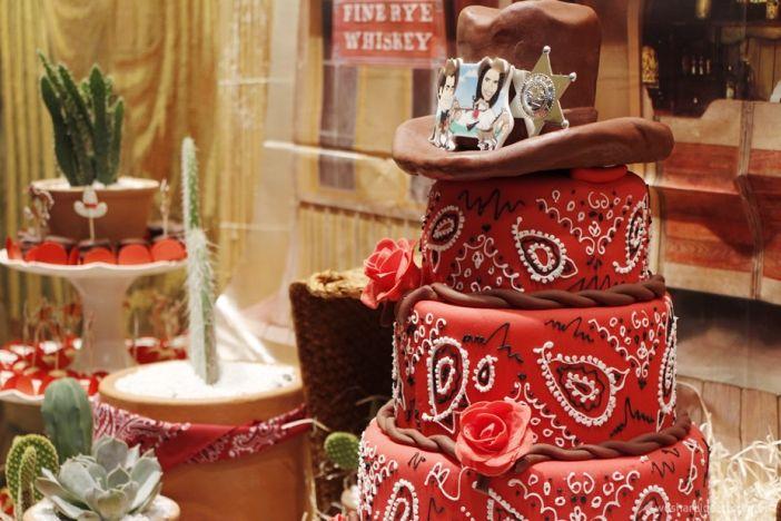 chá bar estilo country, decoração festa, decoração cowboy ...