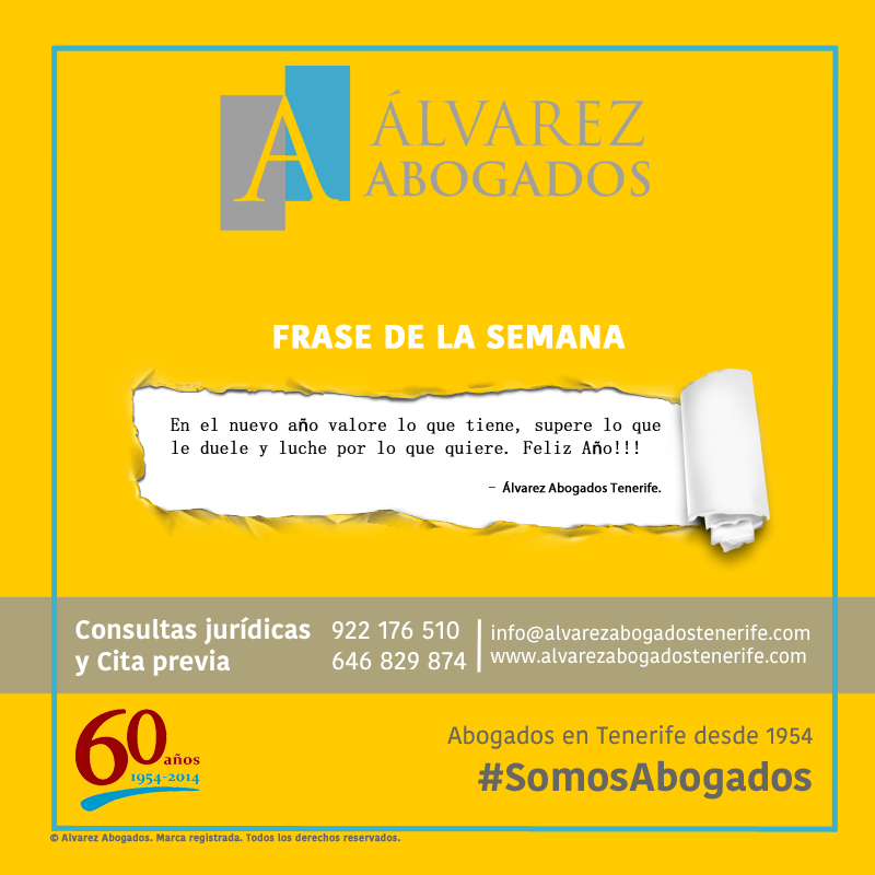 ¡Frase de la semana! #FelizLunes #FelizSemana #SomosAbogados #AlvarezAbogados #FrasedelaSemana #Feliz2017