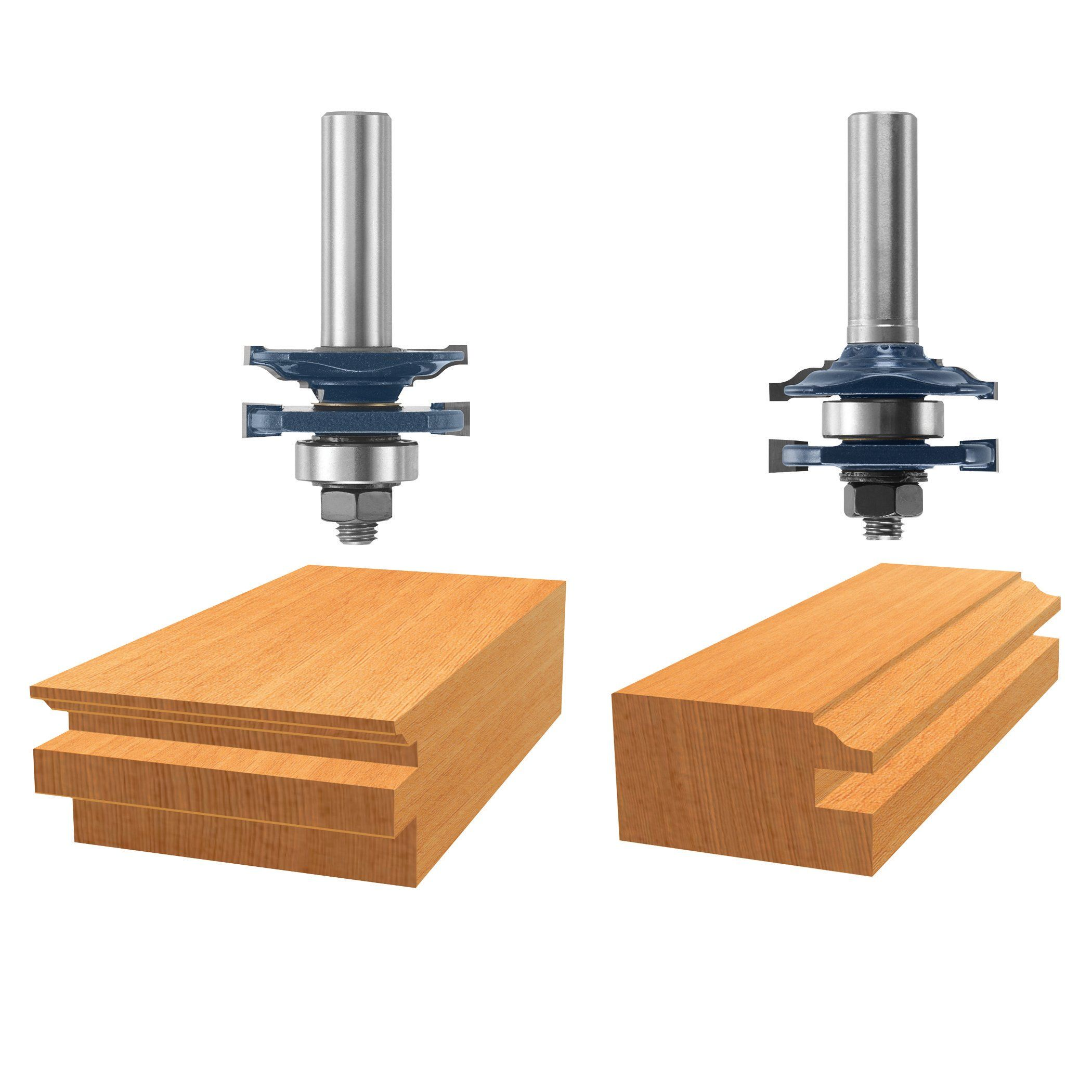 Bosch 85625mc 15 8 In Ogee Stile And Rail Router Bits Read More Reviews Of The Product By Visiting The Link On The Im Router Bits Bosch Router Bits Router
