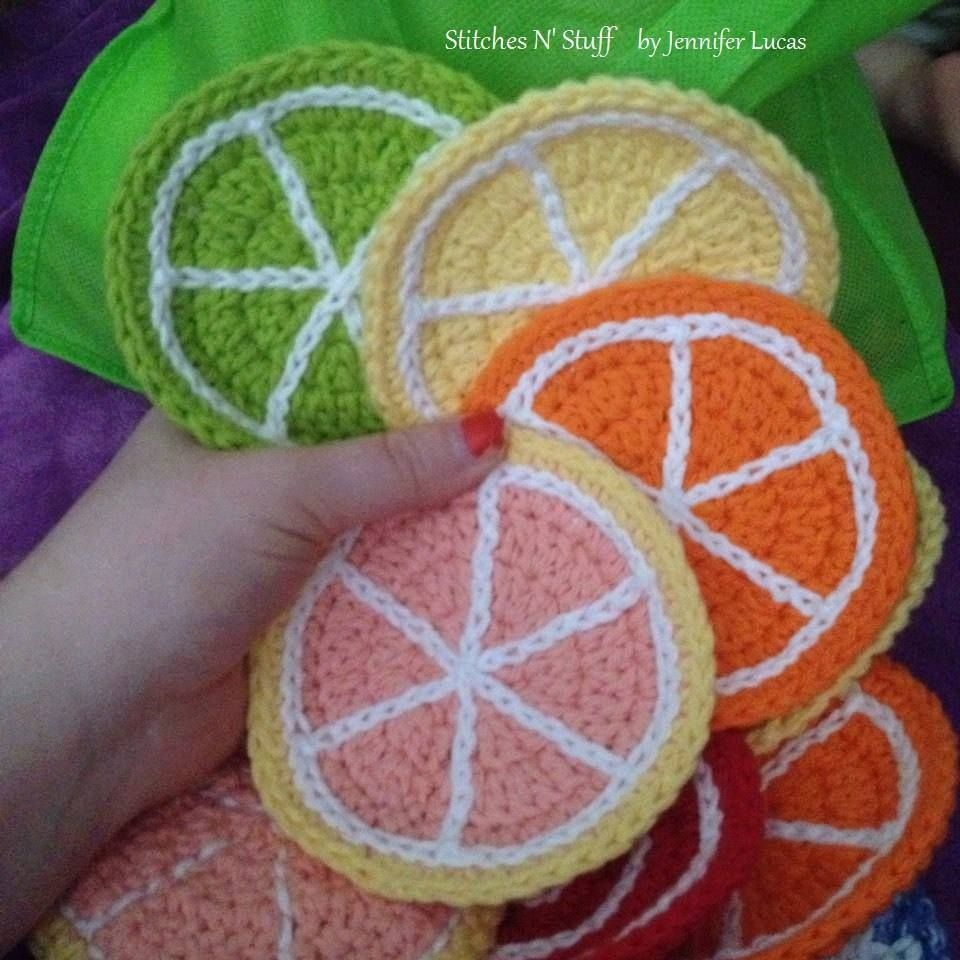 heeheehee Fruit Coasters (my pattern, my picture  •.¸¸☾☆★¸¸.•*¨*••.¸¸☾☆¸.•*¨*★☆☾¨*•*••.¸¸☾☆★¸¸.•*¨*••.¸¸☾☆¸.•*¨*★☆☾¨  ♥✿´¯`*•.¸¸✿SHARE TO SAVE TO YOUR TIMELINE✿´¯`*•.¸¸✿♥ •.¸¸☾☆★¸¸.•*¨*••.¸¸☾☆¸.•*¨*★☆☾¨*•*••.¸¸☾☆★¸¸.•*¨*••.¸¸☾☆¸.•*¨*★☆☾¨   Friend Me I love Meeting New People LauraSearth  ¸•´¸´¨) ¸•*♥  (¸.•´ (¸.•´.•´¸¸✿•.¸¸✿ Join our support group here ↓ www.facebook.com/groups/lifesadream   ♥✿´¯`*•.¸¸✿ღϠ₡ღ✻ (¯`✻´¯)Go Here For More info and to order your Skinny Fiber ...
