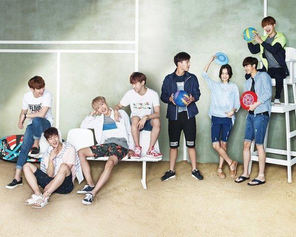 MONSTA X consist of 7 members: Shownu, Jooheon, Wonho, Kihyun, Minhyuk, Hyungwon and I.M.