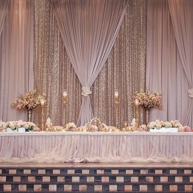 Wedding Reception Head Table Ideas: Pin By Tammy Montgomery On Wedding Back Drops