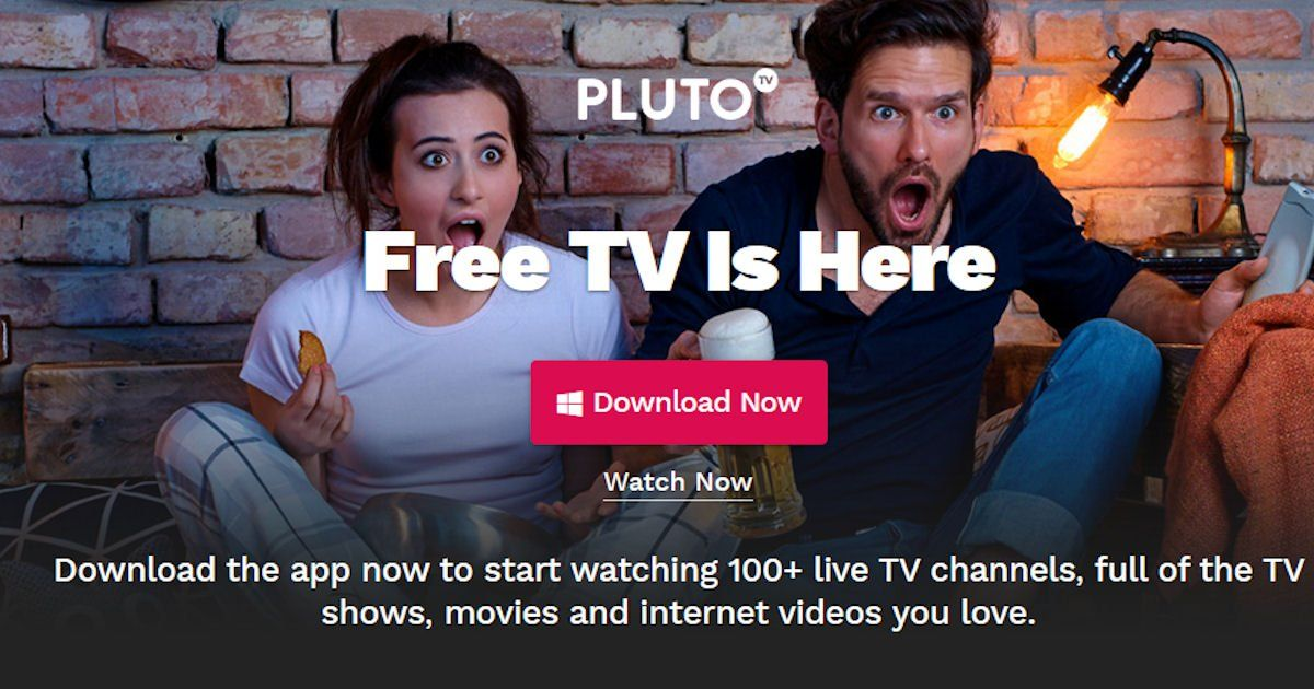 Pluto TV Watch FREE TV, Movies & More Pluto TV is a