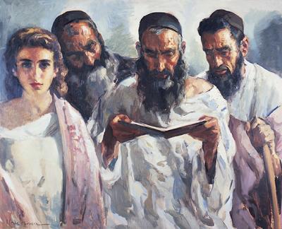 Cruz Herrera, José (1890-1972) El antiguo Testamento