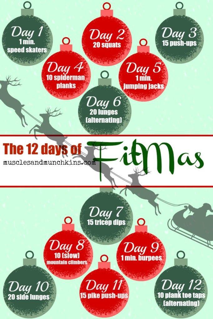 12 Days Of Fitmas Hollie Nicholson