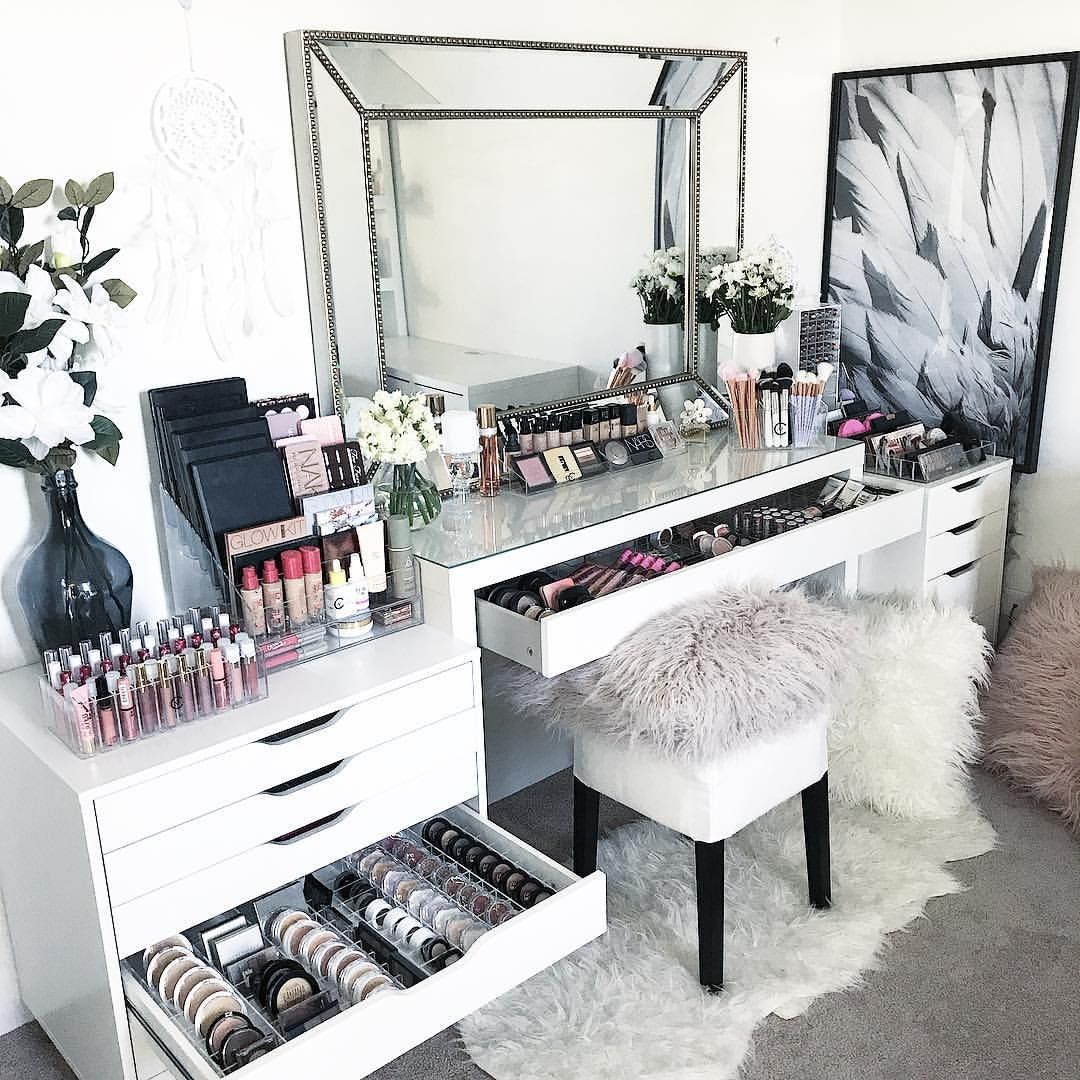 Makeup Table Perth Pin By Deonna Fields On Ideas For Room Room Decor Makeup Desk