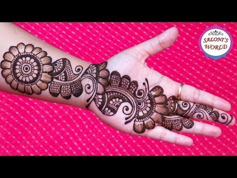 Full Hand Indian Mehndi Design How To Do Bridal Henna Mehendi Art