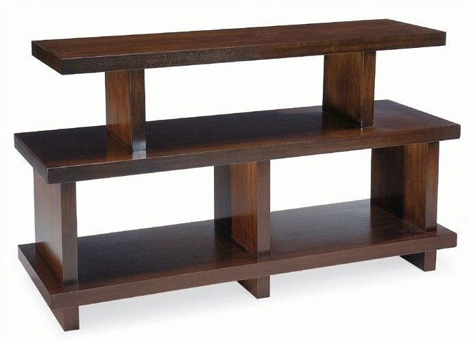 Park West Console Table in Antique Brass
