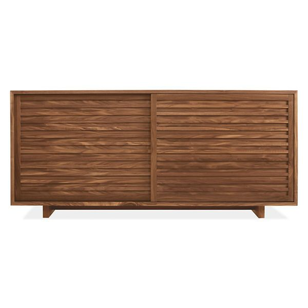 Room  Board - Moro 72w 20d 32h Storage Cabinet Drawers on 1 side