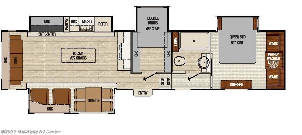 Mid-State RV Inventory | Travel trailer floor plans, Rv ...