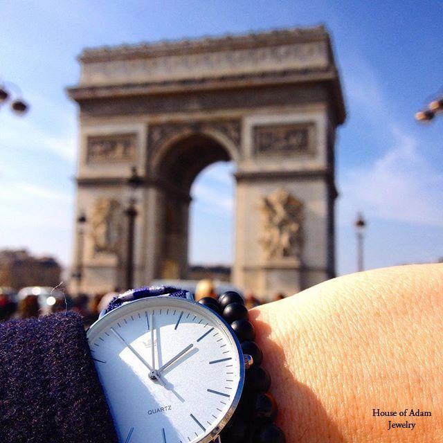 Bonjour Paris! #menjewelry #mensbracelet #paris