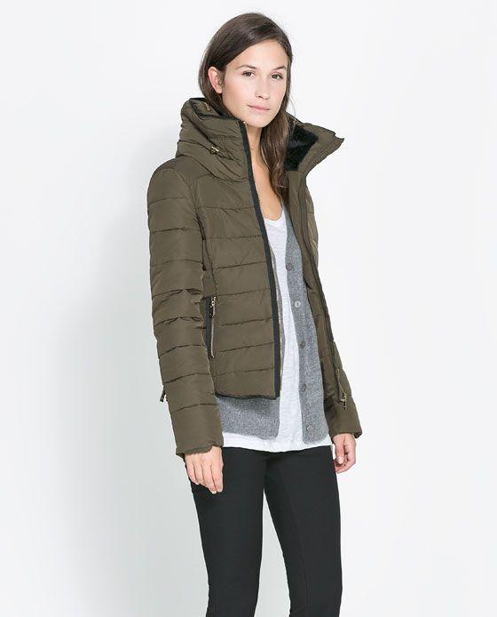 Image 2 Of SHORT COMBINATION ANORAK From Zara | Get In My Closet. | Pinterest | Zara Women ...