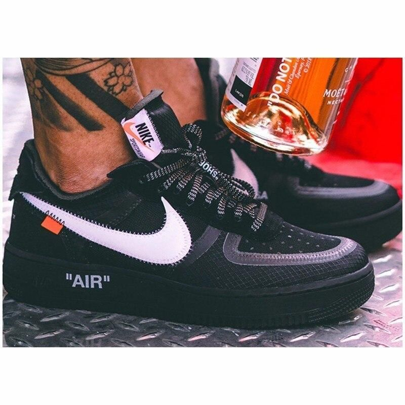 OFF WHITE x Air Force 1 Low 'Black' | airforce1 в 2019 г.
