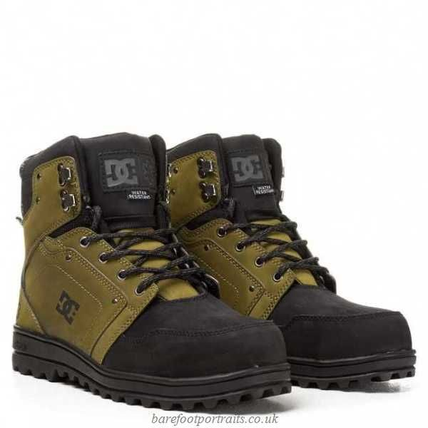 DC \u003e S P T Work Military Boots, Green