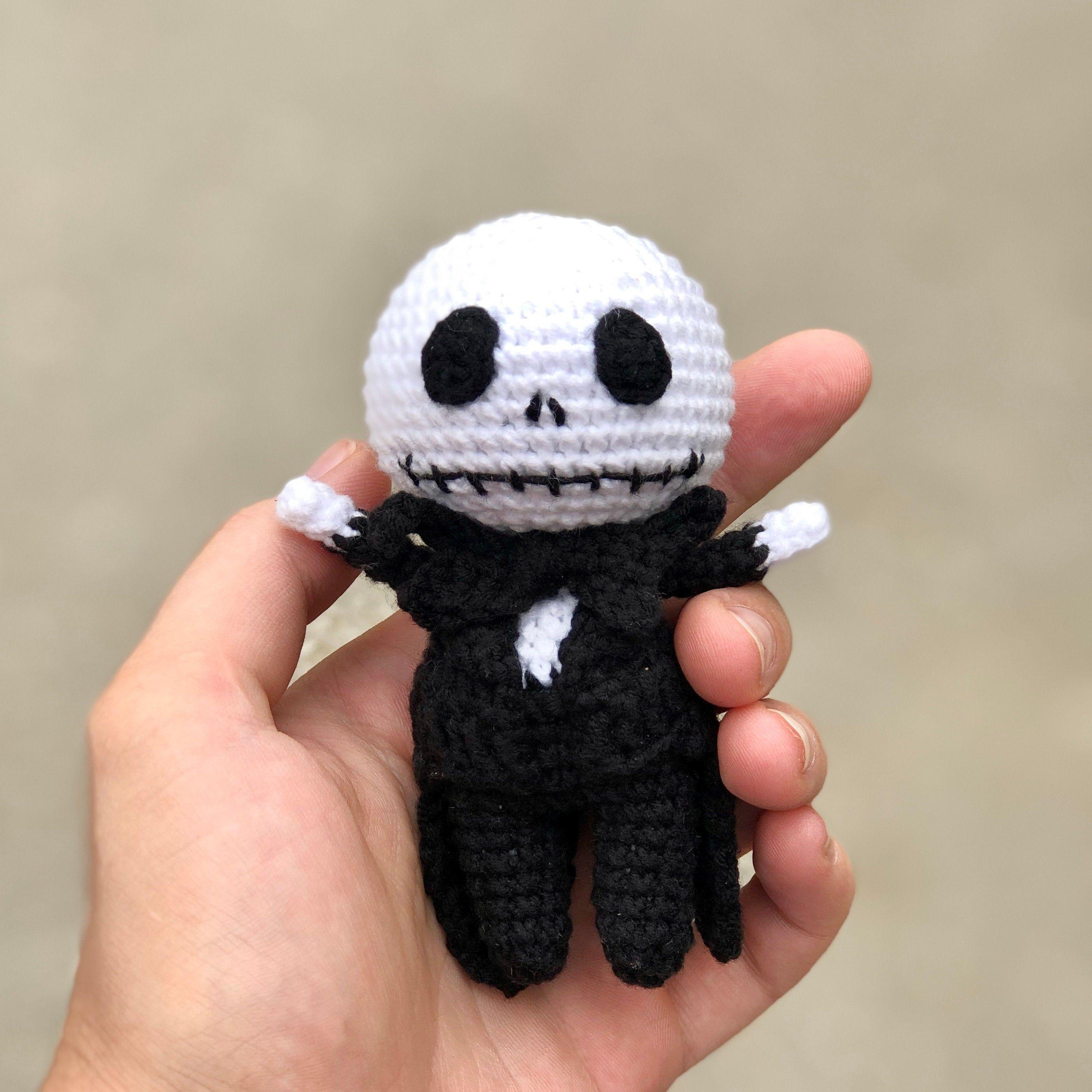 Pdf Crochet Pattern Fan Art Jack Skellington Halloween Crochet Halloween Crochet Crochet Patterns Halloween Crochet Patterns