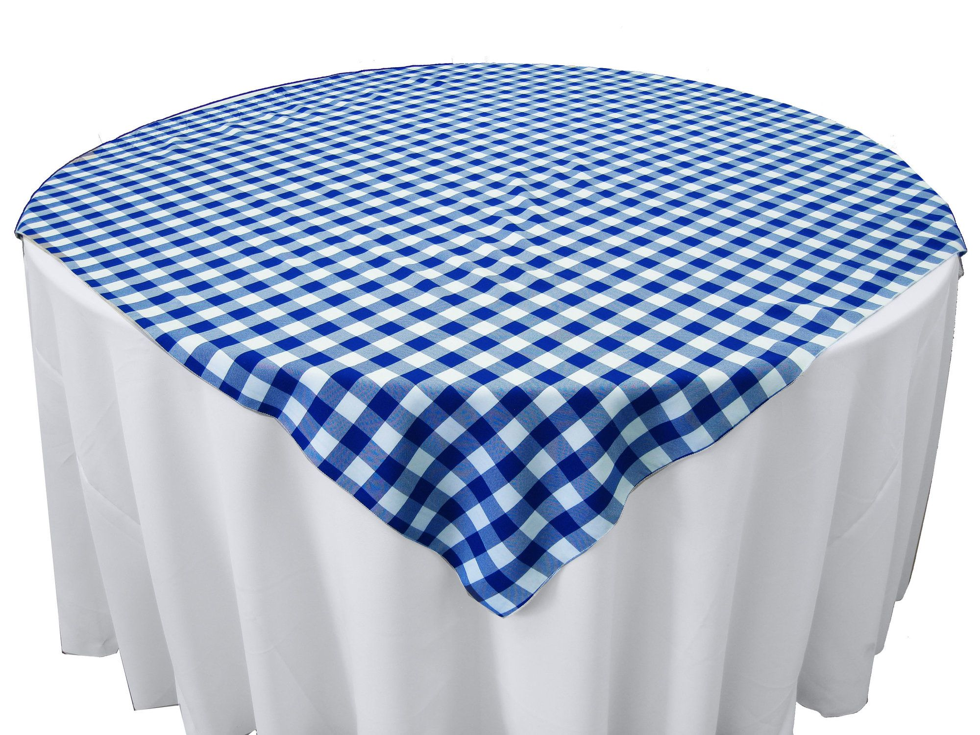 Polyester Gingham Checkered Square Tablecloth Tablecloth
