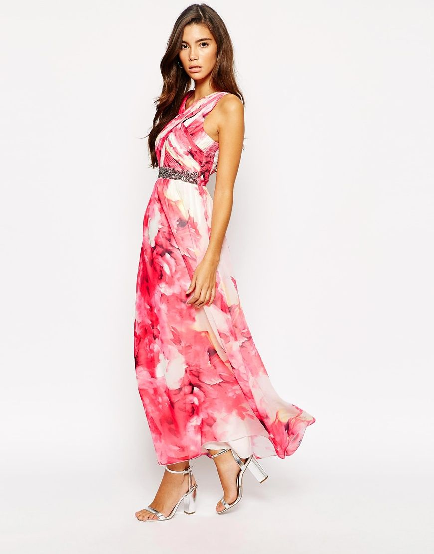 Maxi Dresses for Weddings | Pleated maxi, Maxi dresses and Wraps