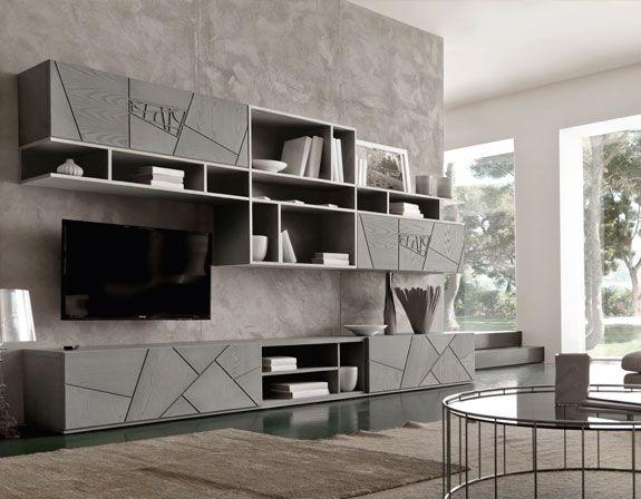 Modo 10 - Collezione Decor | Arredamento soggiorno moderno ...
