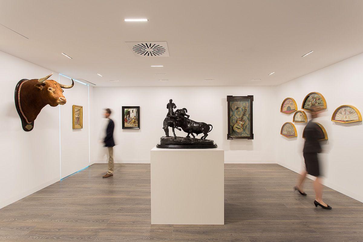 Centro De Arte De La Tauromaquia Malaga Spagna Architectural  # Muebles Tiziano Santa Cruz
