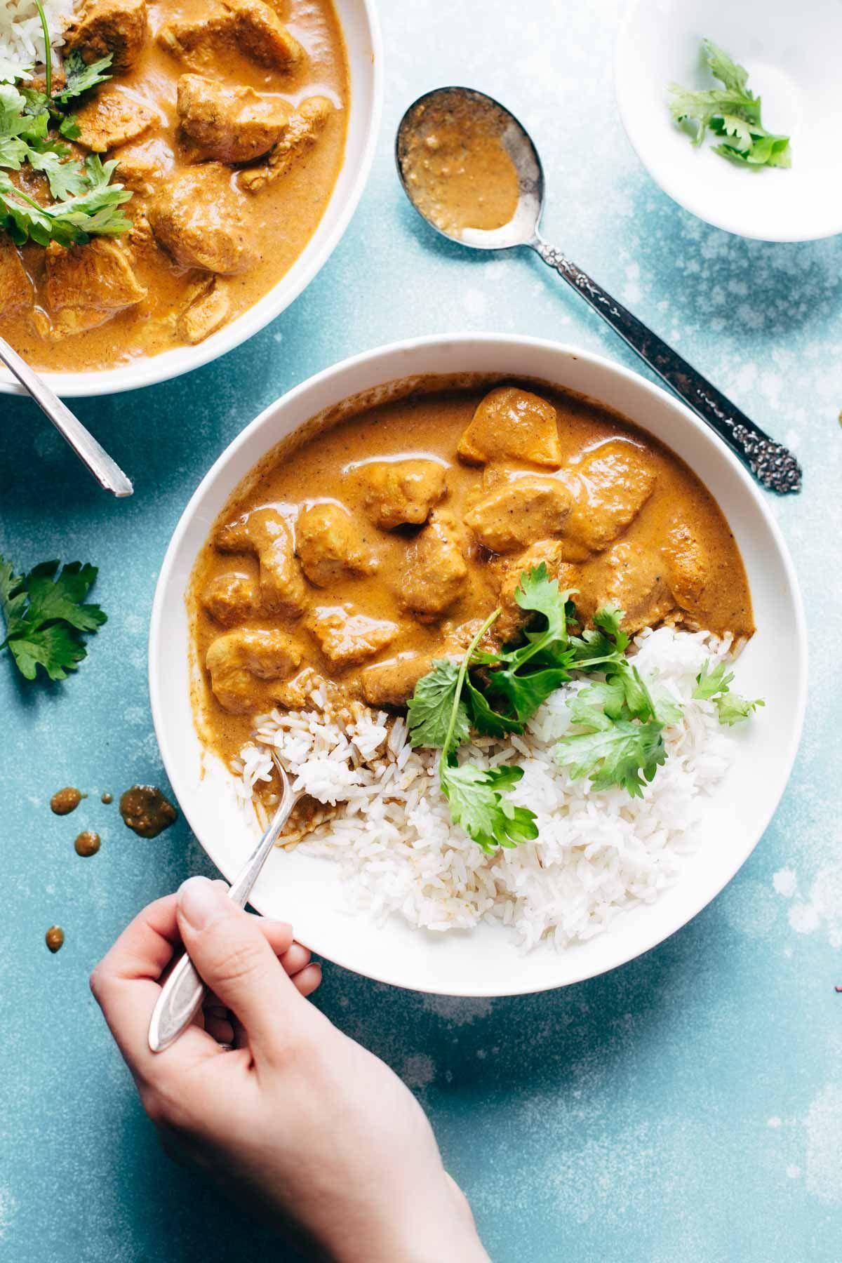 Chicken Tikka Masala Rezept Kochen Oppskrifter Indisk Und Easy