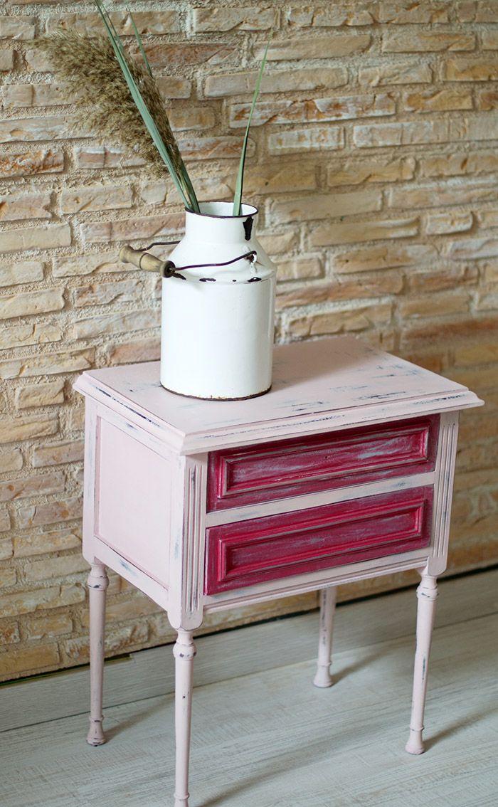 Pintar con chalk paint para reciclar una cómoda vintage   Decoración ...