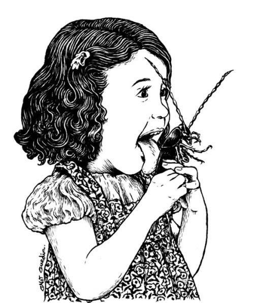 2headedsnake:  reblololo:  salivaglands:  mentalillness:  Elisa antes del fin de tumblr ( viacrystiancastros)  (via substrom)  Gnot Guedin