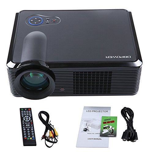 Bestseller Dbpower Led 33 Video Projector 2000 L 17999 Video
