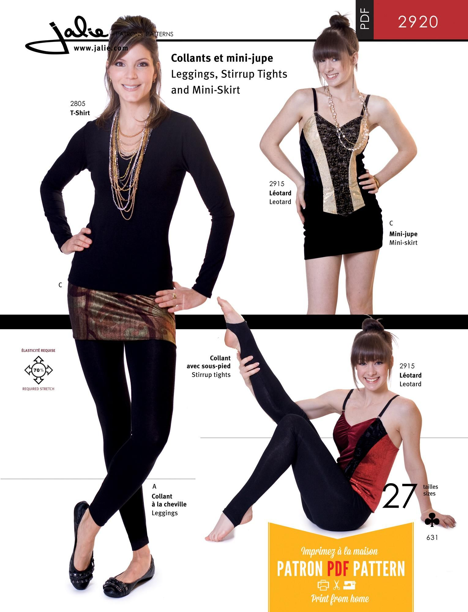 Jalie 2920 leggings stirrup tights and mini skirt pdf pattern jalie 2920 leggings stirrup tights and mini skirt pdf pattern gils and ladies jeuxipadfo Gallery