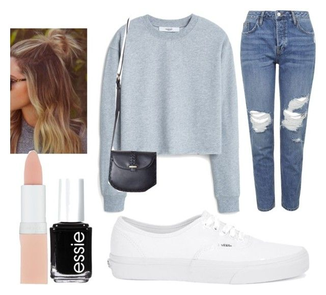 """""""Brandy Mellville"""" by sydypop on Polyvore featuring MANGO, Topshop, Vans, Essie and Rimmel"""