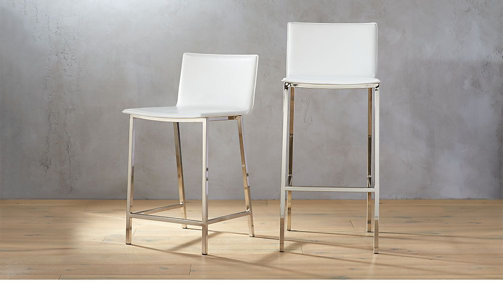 Astonishing Phoenix Ivory Bar Stools Jim In 2019 Modern Bar Stools Pabps2019 Chair Design Images Pabps2019Com