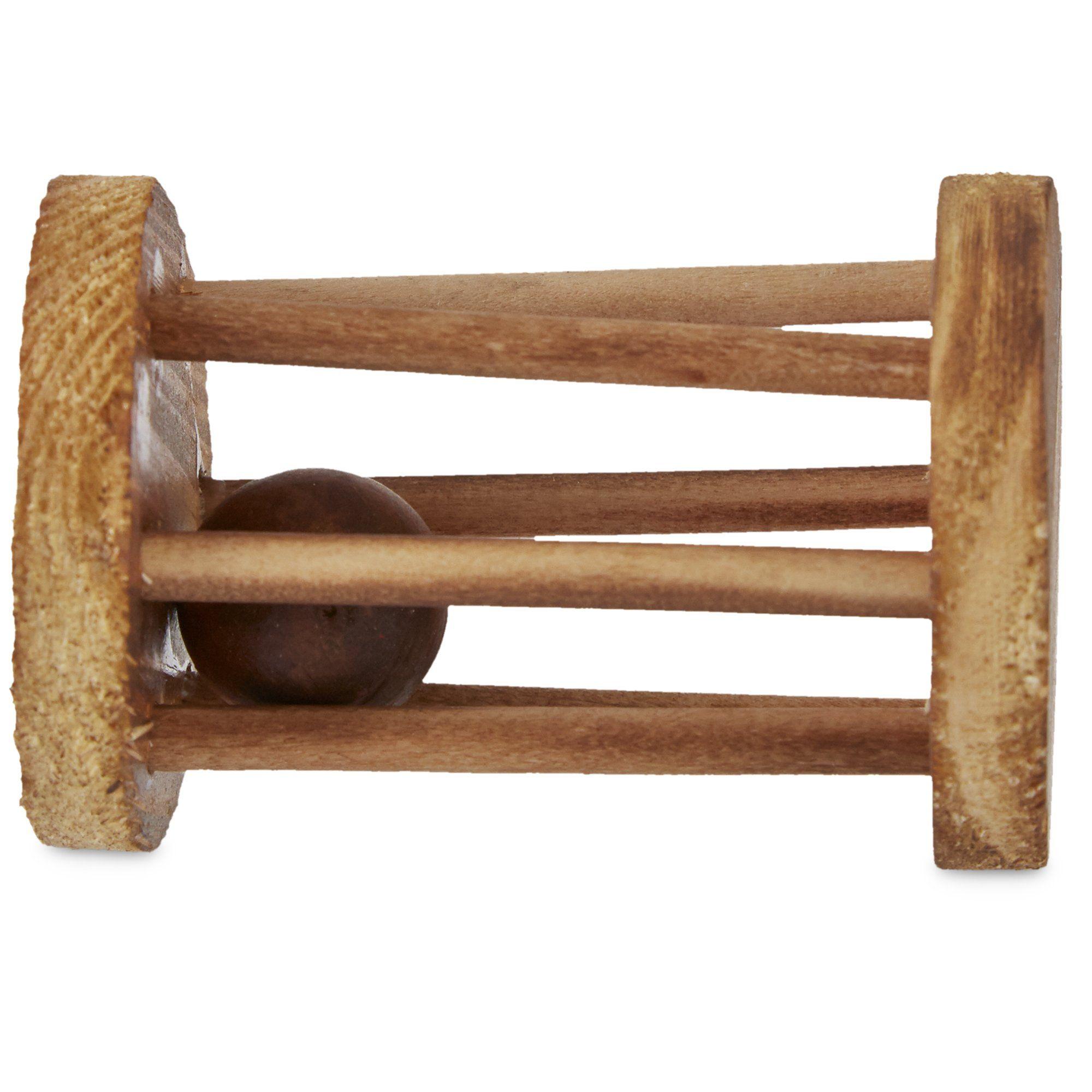 You & Me Wood Wheel with Ball Bird toys, Wild bird food