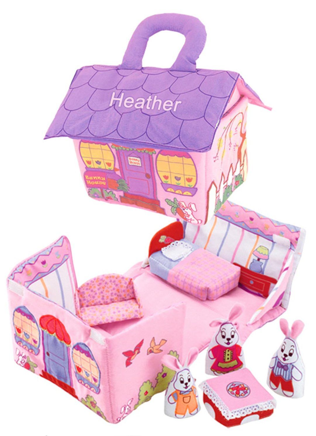Bunny House in 2020 Bunny house, Toys for girls, Playset