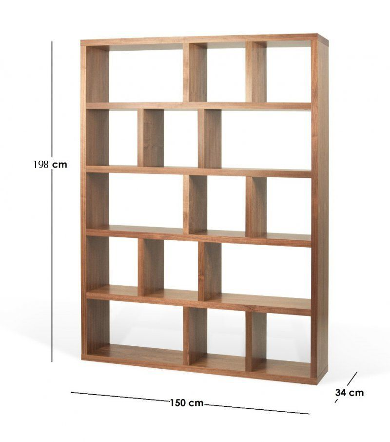 berlin biblioth que tag re 15 casiers plaqu e ch ne bookshelfes in 2018 pinterest shelves. Black Bedroom Furniture Sets. Home Design Ideas